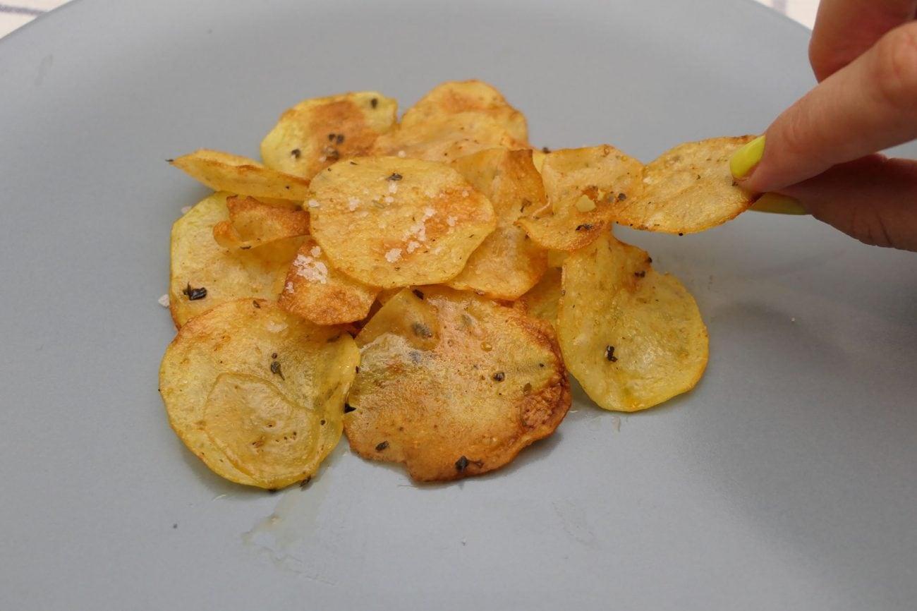 Homemade čips